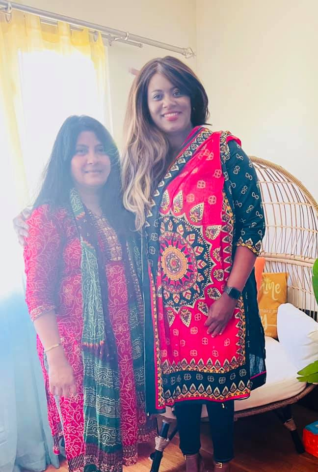 It was nice meeting a sister from Bangladesh, my program partner, thank you for the dress, love it. What she is doing is promoting WOMEN EMPOWERMENT LEADERSHIP BUSINESS NETWORK GLOBALY